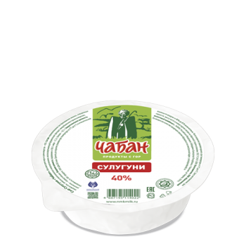 """Сыр Сулугуни """"Чабан"""" 40%"""