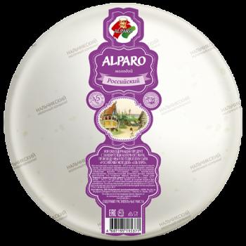 Сыр «Российский молодой» «Альпаро» 45%