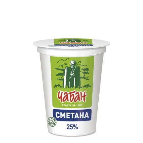 "Сметана ""Чабан"" 25%"